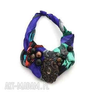 naszyjniki azteque naszyjnik handmade, naszyjnik, kolia, kolorowy, wielobarwny
