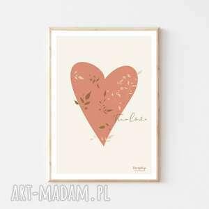 plakat a4 true love