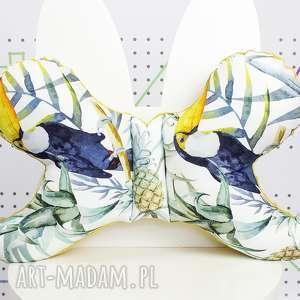 motylek- poduszka antywstrząsowa tukany, poduszka, antywstrząsowa, motylek