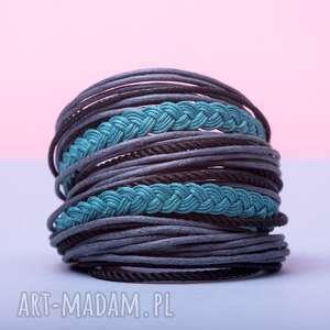 whw big mess - rough sea, obszerna, zwijana, sznureczkowa, zawijana, kolorowa