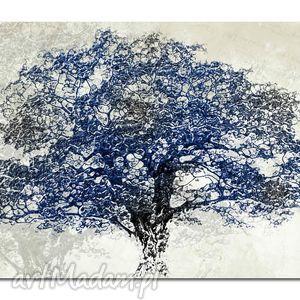 obraz xxl drzewo granat - d8 -170x100cm na płótnie zamówienie indywidualne