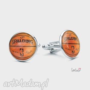 Spinki do mankietów basketball laluv koszykówka, piłka, chłopak