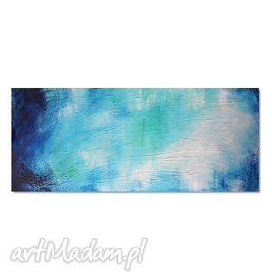 głębia 6r, nowoczesny obraz ręcznie malowany, abstrakcja, obraz, owoczesny