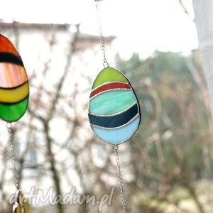 Wielkanocne jajko witraże pi art wielkanoc, wiosna, witraż,