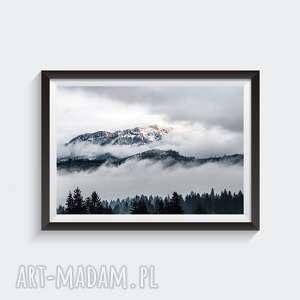 tatry - autorska fotografia barwna 30x45, góry, tatry, krajobraz, chmury