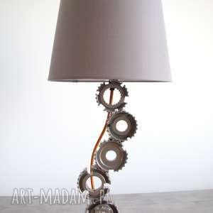 Grisa - Industrialna lampka na szafkę nocną, industrialna, loftowa, loft, retro, eko,