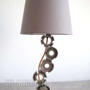 Grisa - industrialna lampka na szafkę nocną berriro industrialna