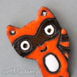 handmade broszki szop-broszka ceramiczna