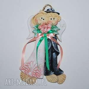 ślub zróbcie nam zdjęcie anioły ślubne, anioły, ślub, prezent, ozdoba, jubileusz