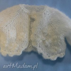 sweterek dla lalki misia 40 cm - maskotka miś, bolerko, ubranko, lalka