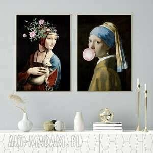 zestaw kobiety b2 - 50x70 cm, mieszkanie, obraz, ozdoba, prezent