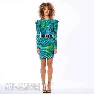sukienki krystle - sukienka z bufkami