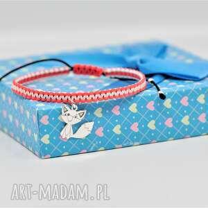 bransoletka z liskiem / lisek dla dziewczynki, dziecka