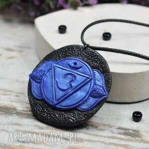 handmade wisiorki wisiorek ajna - duży wisior czakry trzeciego oka