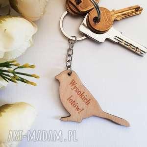 Prezent Breloczki do kluczy prezent dowolny napis, brelok, breloczek, klucze, drewno