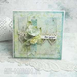 w dniu imienin- kartka z pudełkiem 3 - na imieniny, na urodziny, kartka omieninowa