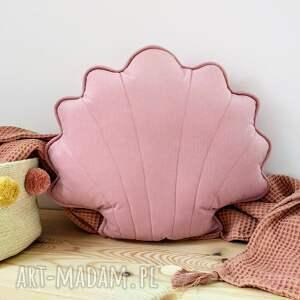 muszelka poduszka dekoracyjna do pokoju dziecięcego kuferek - pokój dziecięcy