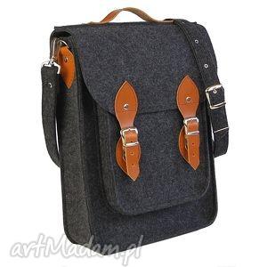 Filcowa torba na ramię, torba, filcowa, filcu, laptopa