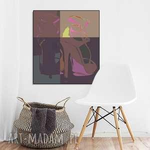 Para szpilek, szpilki, obraz, nowoczesny, moda, minimalizm, unikatowy