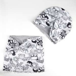 zestaw dla dziecka komin czapka star wars - komin, zestaw, czapka, dwustronny, star wars