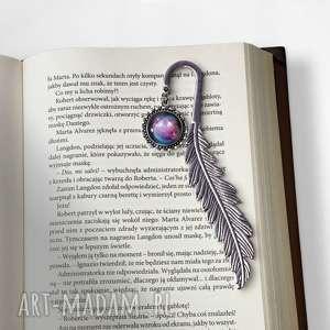 ręcznie zrobione zakładki zakładka do książki kosmos