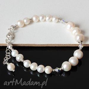 handmade perły i swarovski