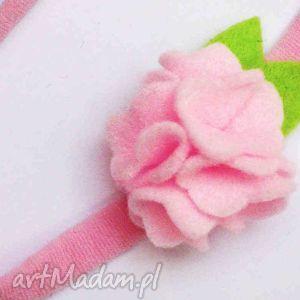 handmade dla dziecka opaska niemowlęca
