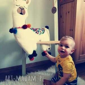 przytulanka/poduszka lama, poduszka, przytulanka zabawka, pokój dziecka