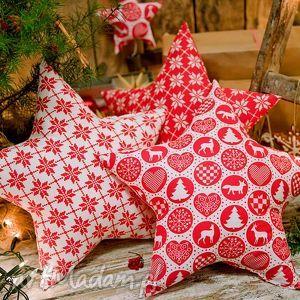 poduszki idą święta komplet 3 poduszek gwiazd, poduszki, gwiazdy, gwiazdki, święta