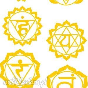 ZESTAW TATUAŻY ZŁOTE METALICZNE CZAKRY NO 6 - ,tatoo,tatuaż,czakry,chakry,złote,modowe,