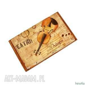 operowy - wizytownik, etui na karty płatnicze, prezent, wizytówka, opera, muzyka
