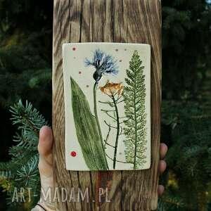 Obrazek letnia łąka dekoracje enio art obrazek, obraz, ceramika