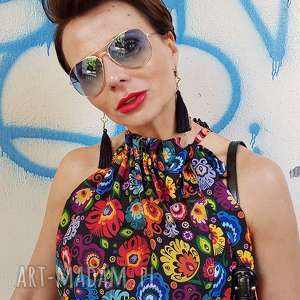 Bluzka liza 4864 rozm xs, s bluzki more fashion bez rękawów
