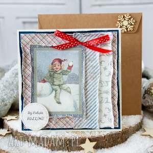 Pomysł na upominek świąteczny? Przepiękna i wyjątkowa kartka