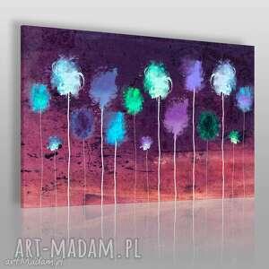 obraz na płótnie - abstrakcja kolorowy 120x80 cm 25403, abstrakcja, nowoczesny