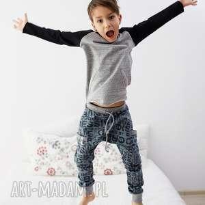bluza essential, bluza, raglan, bawełna, dziecko, wiosna, melanż, wyjątkowy