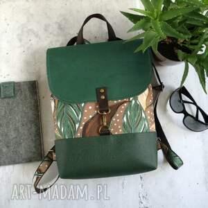 handmade damski plecak