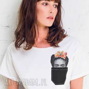 FRIDA IN POCKET Oversize T-shirt, oversize