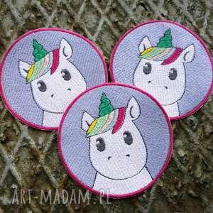 naszywka unicorn, naszywka, jednorożec, pastelowa