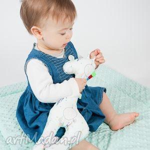 hand-made zabawki mięciutka, żyrafka minky - miętowe łapacze snów