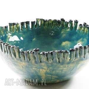 Prezent Misa ceramiczna - MORSKA, dom, ceramika, misa, patera, prezent, dekoracje