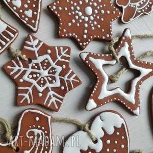 Święta prezenty? Ceramiczne ozdoby na choinkę w kształcie