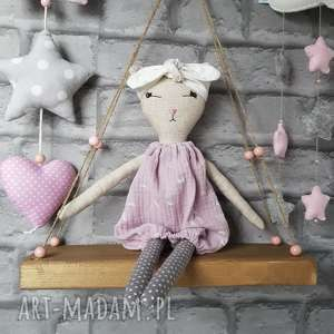 handmade lalki tilda kotek