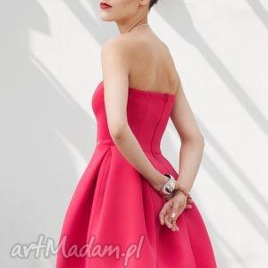 Sukienka gorsetowa rozkloszowana CR, wesele, studniówka, gorsetowa,