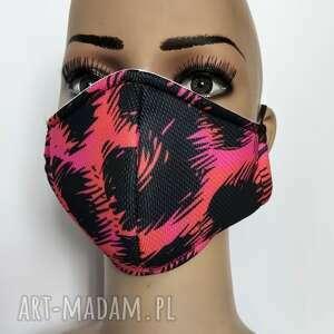 maska,maseczka ochronna z filtrem f7, maska, ochronna, drukowana, damska