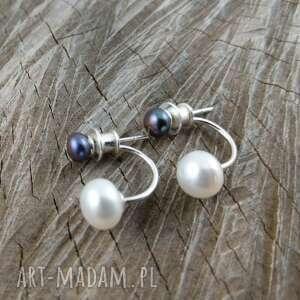 Dwie perełki 02 onyksela perły, perła, hodowlana
