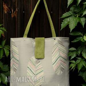 torba / worek na ramię, torba, shopperka, prezent, wiosna lato, polski produkt