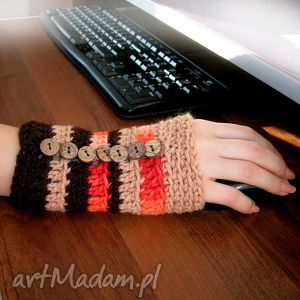 handmade rękawiczki ocieplacz, rękawiczka