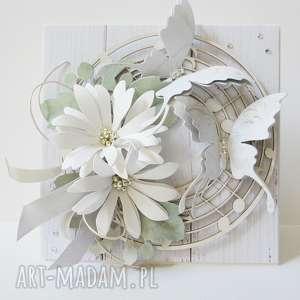 w bieli - pudełku, ślub, życzenia, rocznica