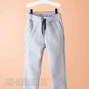 spodnie chsp09m - wygodne, bawełniane, sportowe, modne